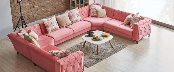 Living Room Decoration with Corner Couch Selection   Living Rooms ...
