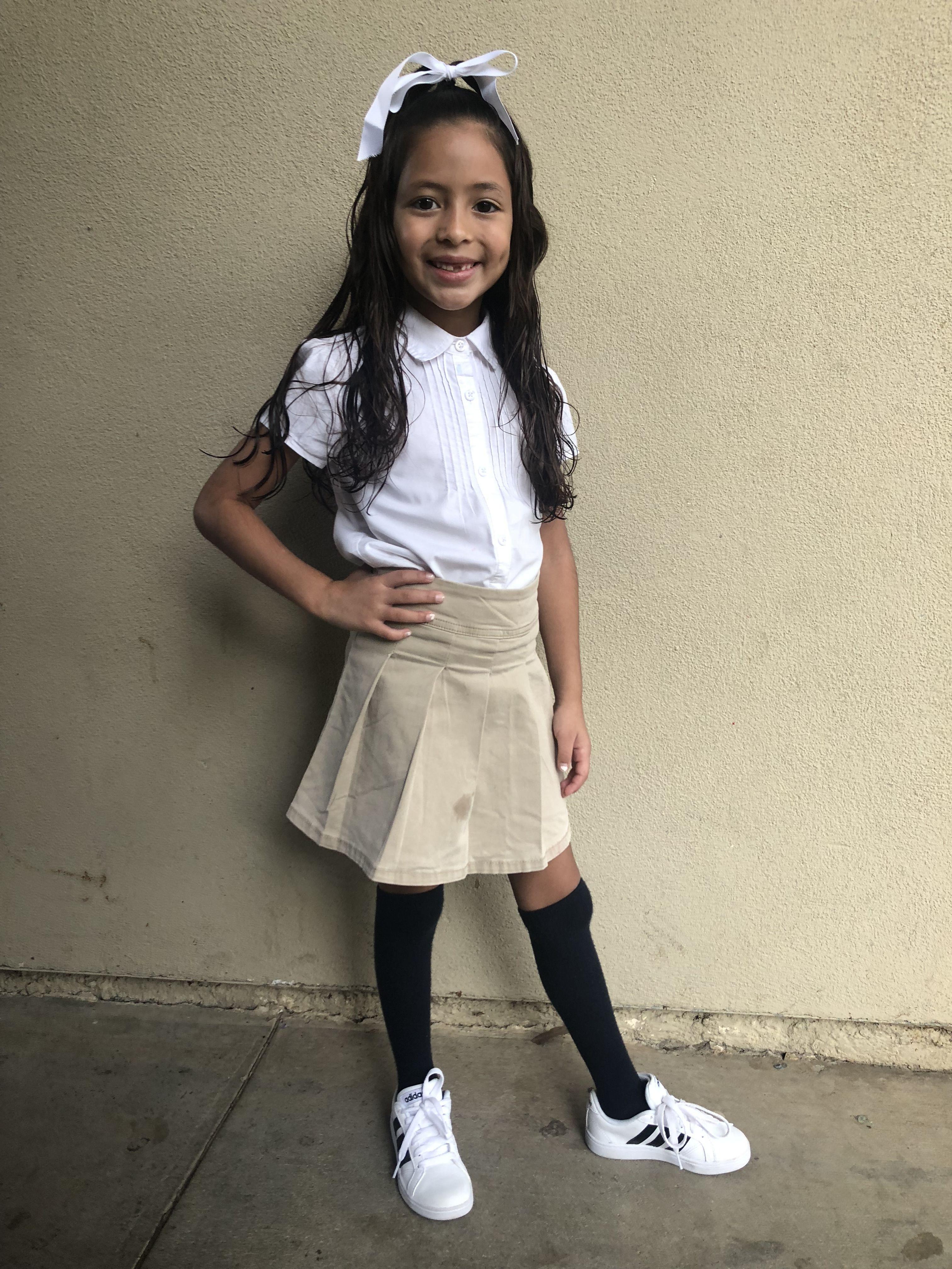 d6fdb7d29ac Girls school uniform. White polo (children s place)