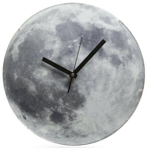 Moon Clock Tags Light Up Clock Moon Clock Wall Clock Moon Clock Clock Cool Clocks