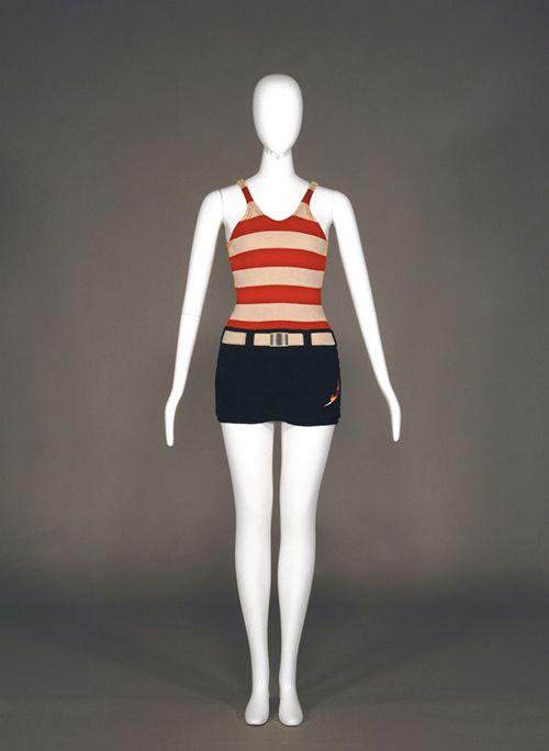 Swimsuit by Jantzen, 1923, Kobe Fashion Museum