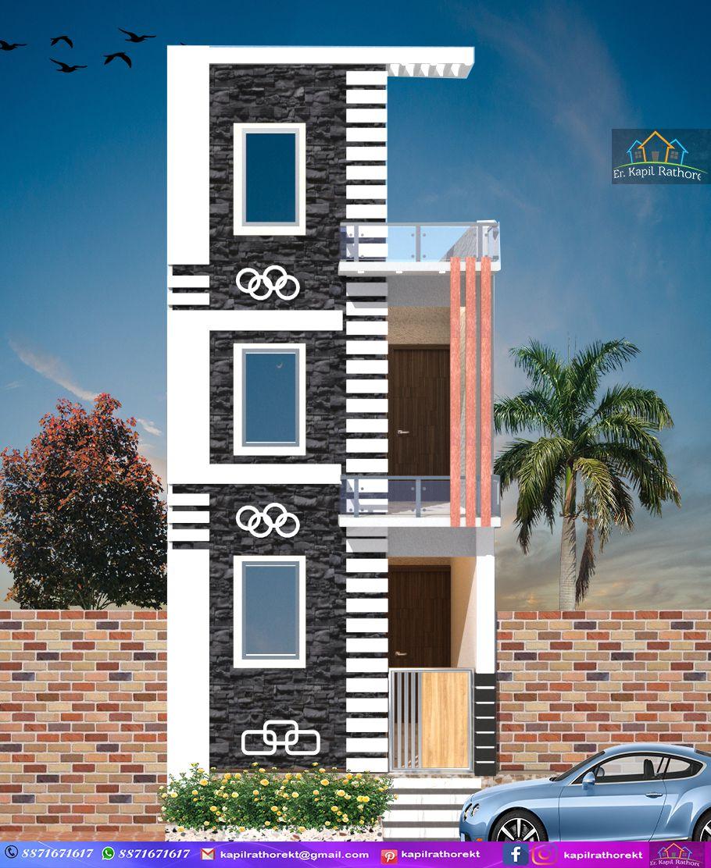 Exterior Simple Home Tower Design Decoomo