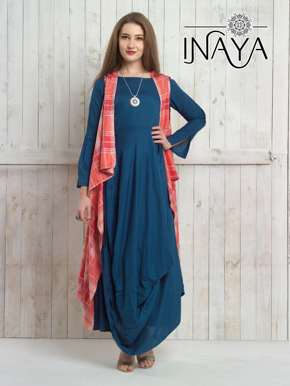 da197de27a190 Ready 2 wear ❄ - INAYA By( STUDIO LIBAS) ➖➖➖➖➖➖➖ 📍 FABRIC Jacket :- pure  modal cotton ( very soft n skin friendly) Kurti :- pure imported reyon ...