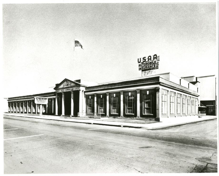 Usaa S Grayson Street Building Across The Street From Fort Sam Houston Was Usaa S Home For 29 San Antonio Tx San Antonio Fort Sam Houston