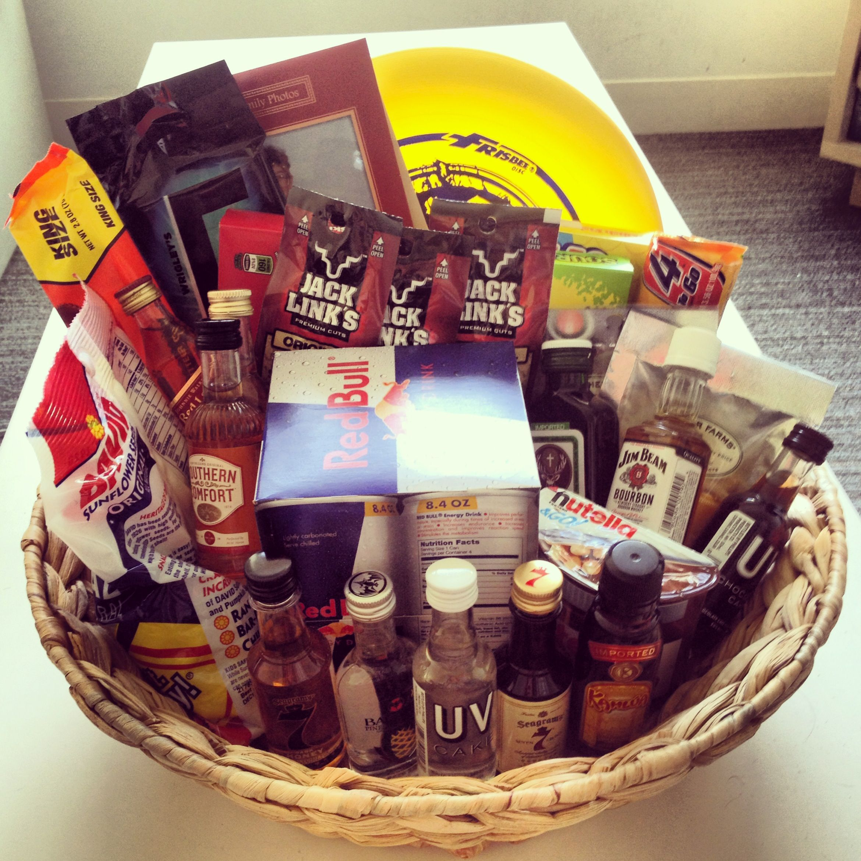 Man Basket Gift Idea