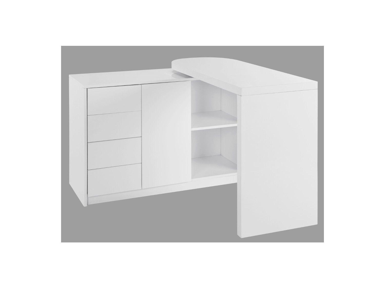 Schreibtisch Drehbar Arbeitszimmer In 2019 Schreibtisch Tisch