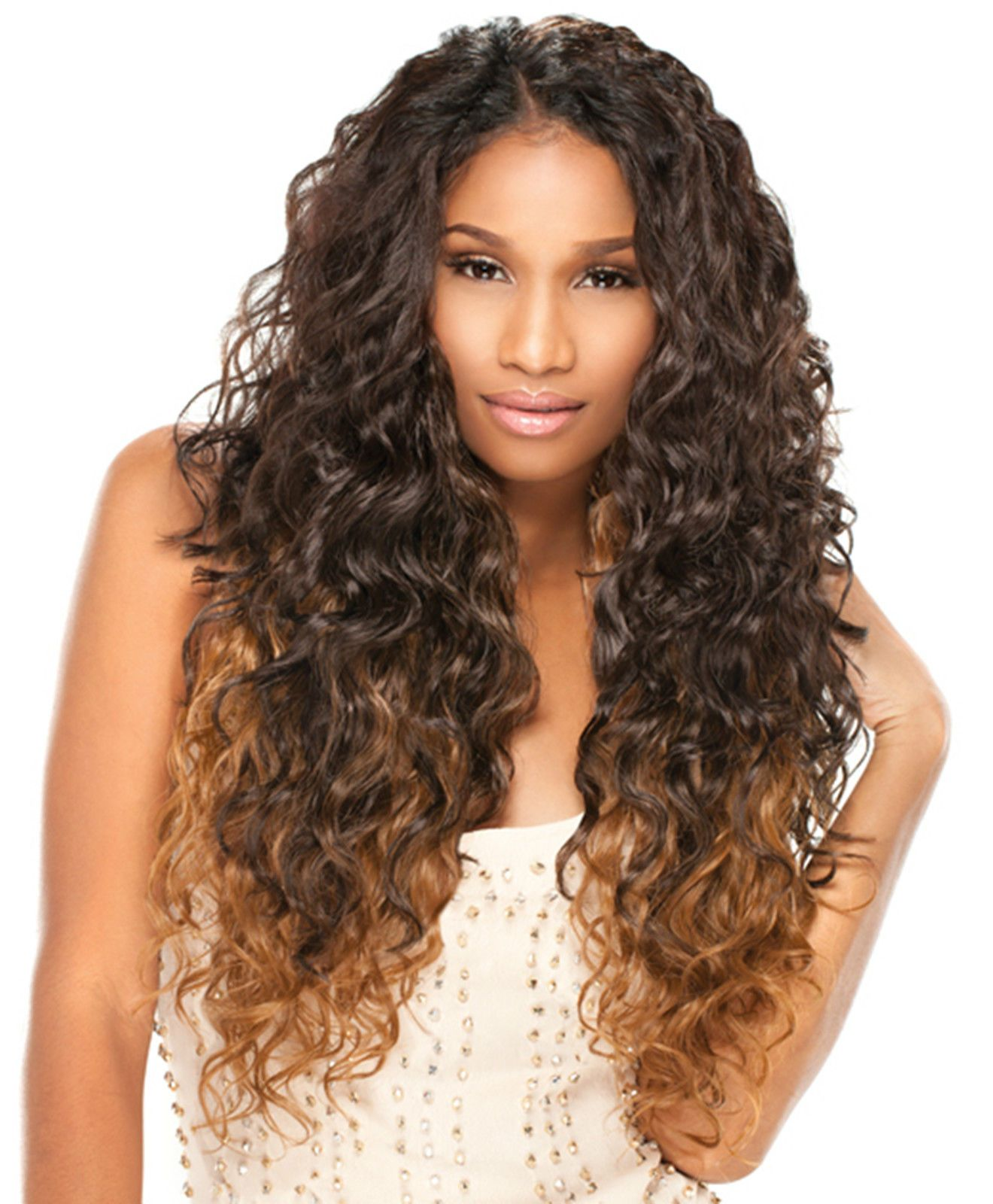 Natural curly kanubia easy brazilian style pcs