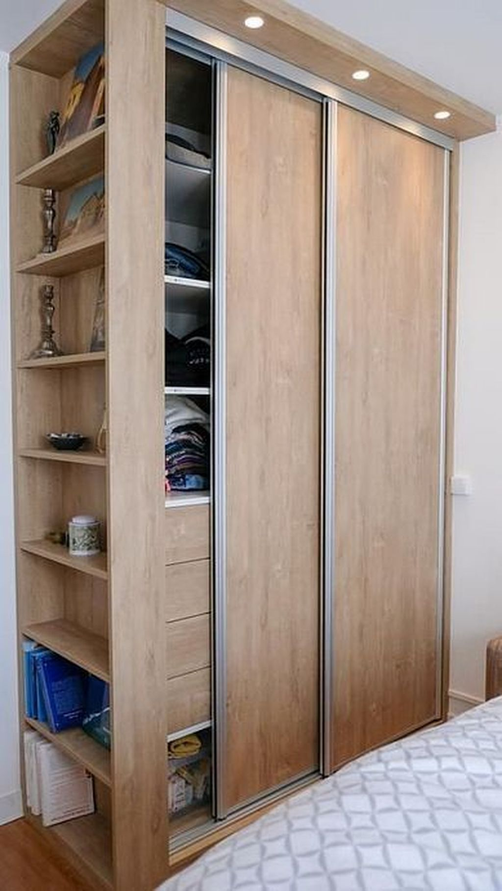 Easy Methods To Create Your Personal Customized Wardrobe Design With Images Bedroom Cupboard Designs Cupboard Design Bedroom Closet Design