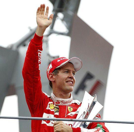 Sebastian Vettel / Scuderia Ferrari / Formula 1 / World