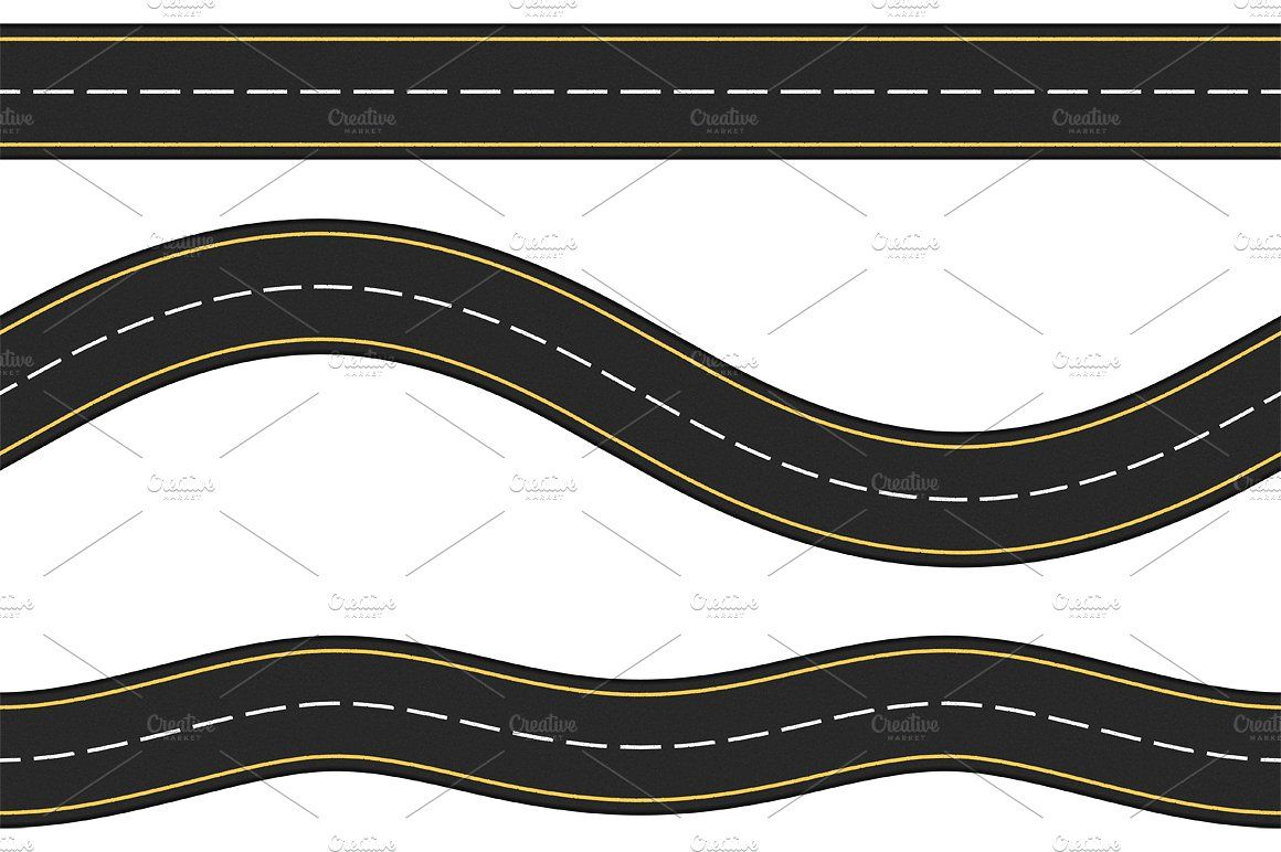 Roads White Background Image Review Road