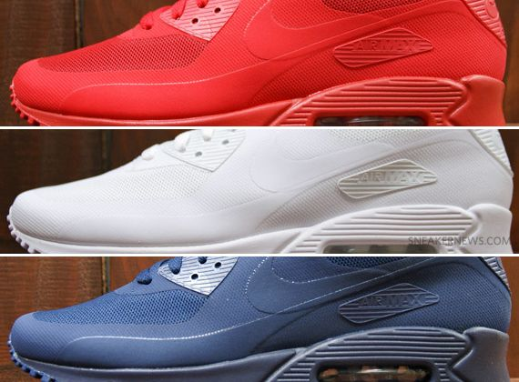 nike air max 90 hyperfuse independence day pack Nike Air Max 90 Hyperfuse  Independence Day Pack