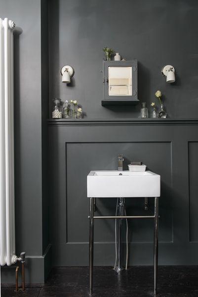 Best Adrienne S Bathroom In Farrow Ball Downpipe As Featured 400 x 300