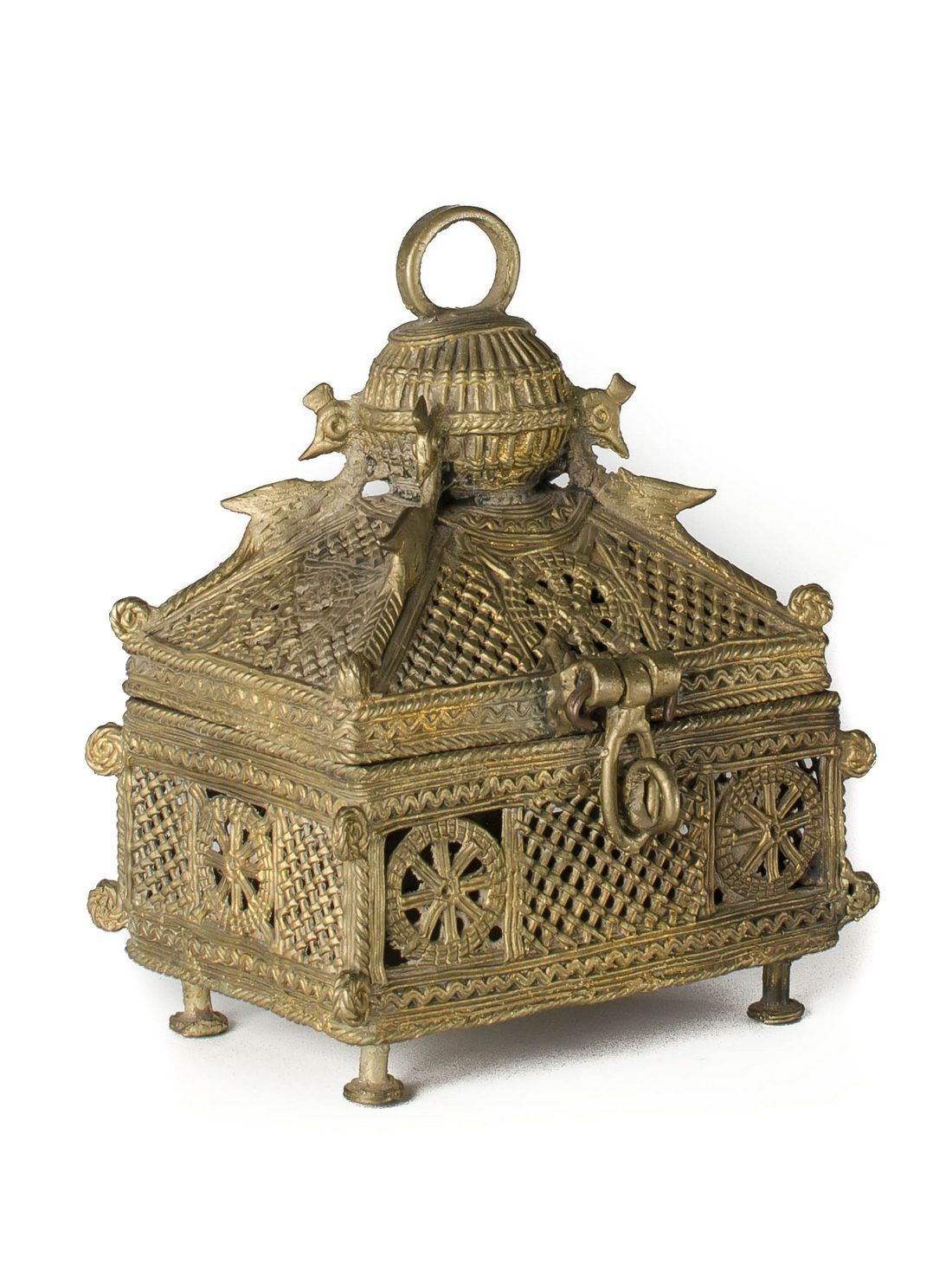 Dhokra Jewelry Box