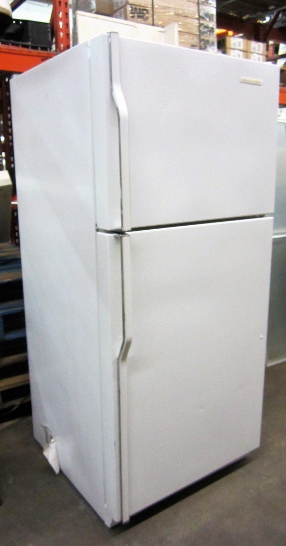 Download Wallpaper Used White Kitchenaid Refrigerator
