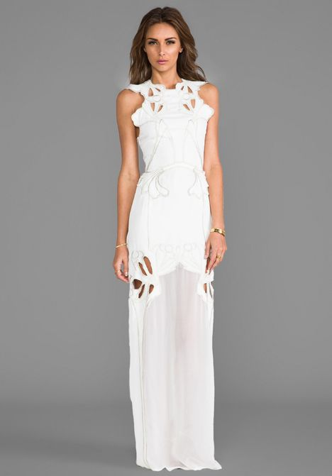 Alice mccall river by the rock maxi dress