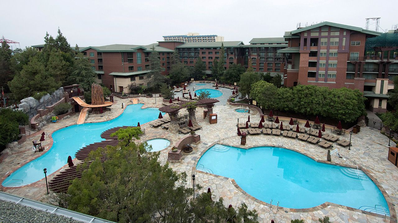 A Closer Look New Pool Deck At Disneys Grand Californian Hotel Spa