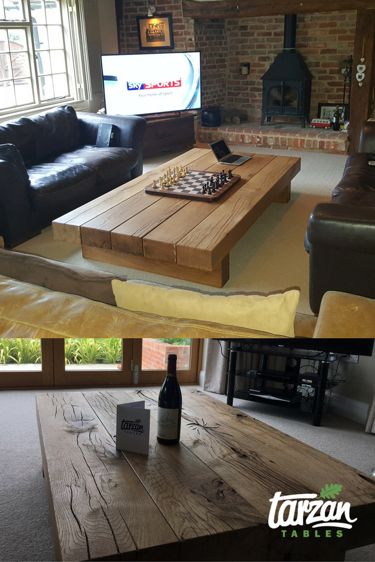 Some Rustic Coffee Tables From Tarzan Tables. See More Here: Https://