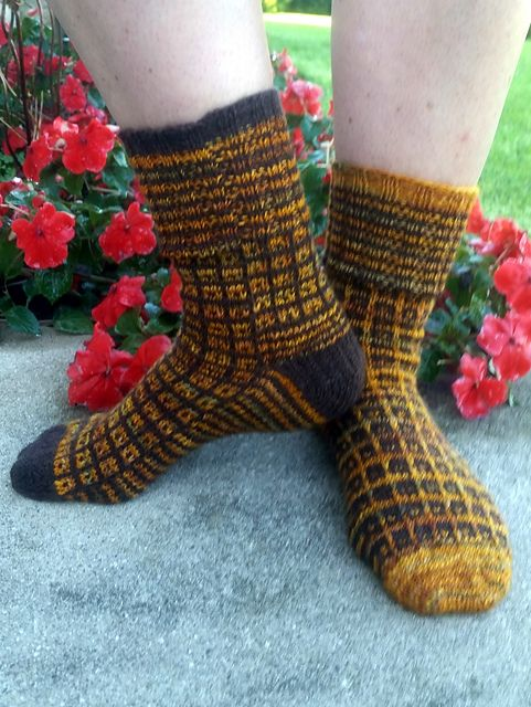 Ravelry: JocelynS's September Socks