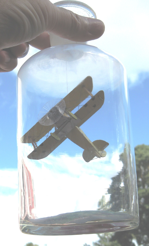 'Tummelisa', ett övningsflygplan som togs fram för Flygvapnets piloter under 1920- och 1930-talen.