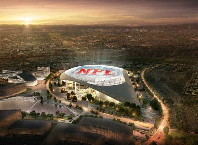 Nfl Announces New Stadium In Los Angeles With Images Boston City Hall Inglewood Los Angeles Rams