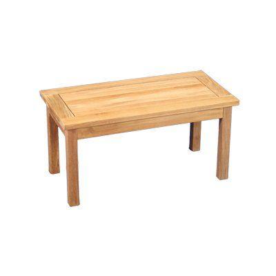 Best Cheap Regency Teak Saratoga 36″ X 18″ Coffee Table Teak 400 x 300