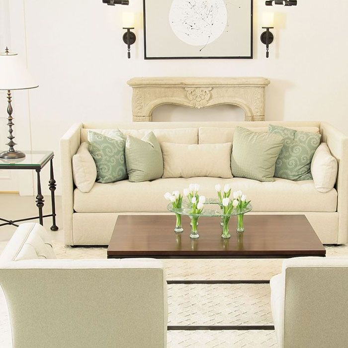 36 light cream and beige living room design ideas white for Green and beige living room ideas