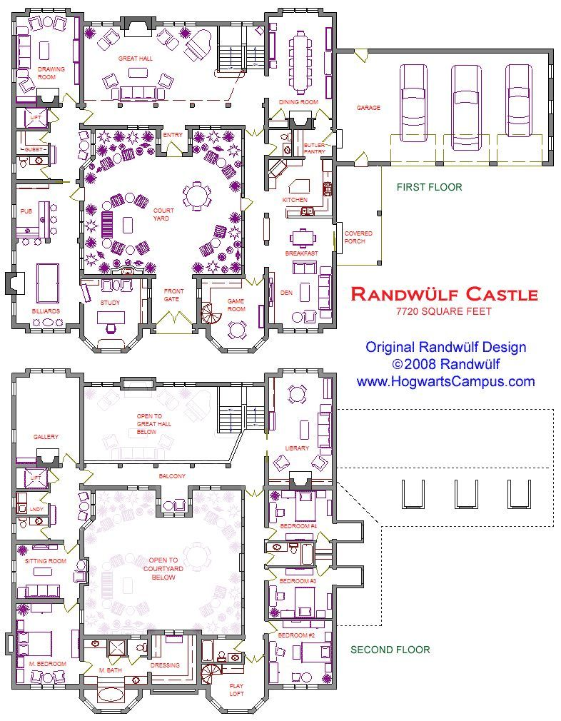 2 story castle with courtyard new house lottery house ideas