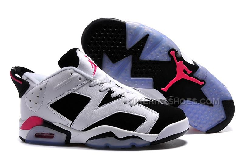 "03813833c9fa Air Jordan 6 Retro Low ""Sport Fuchsia"" White Black-Fuchsia Flash in ..."