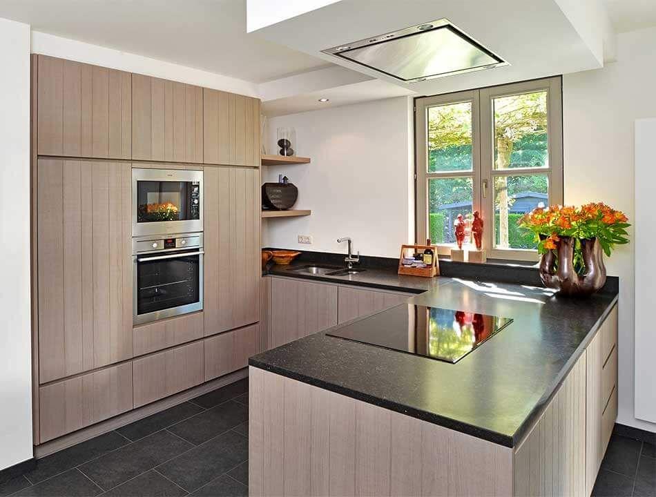 Ideeen Renovatie Keuken : U keuken als houten keuken keuken cocinas aticos