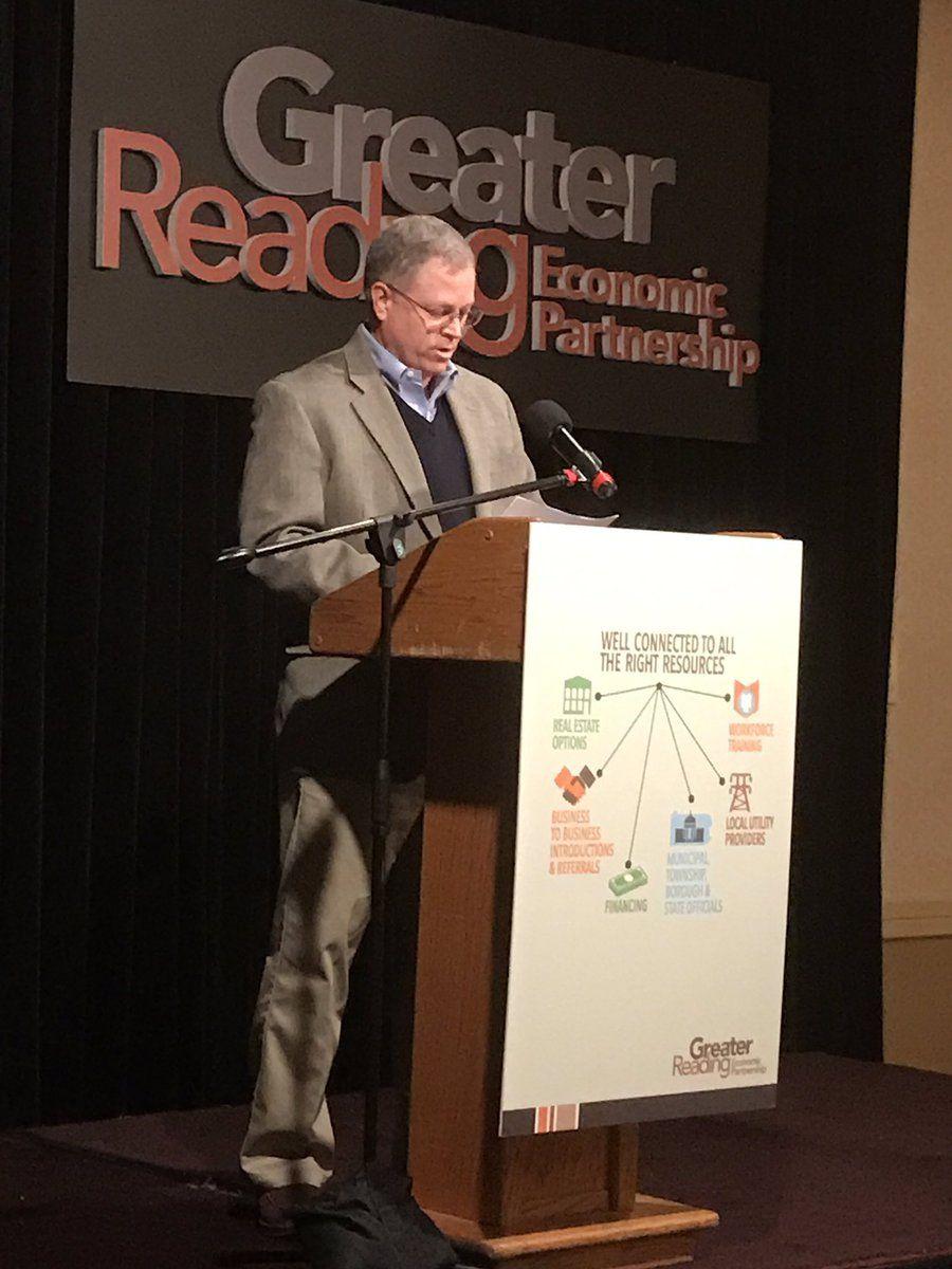 Our Team Leader, John Gallen at GREP's annual meeting!