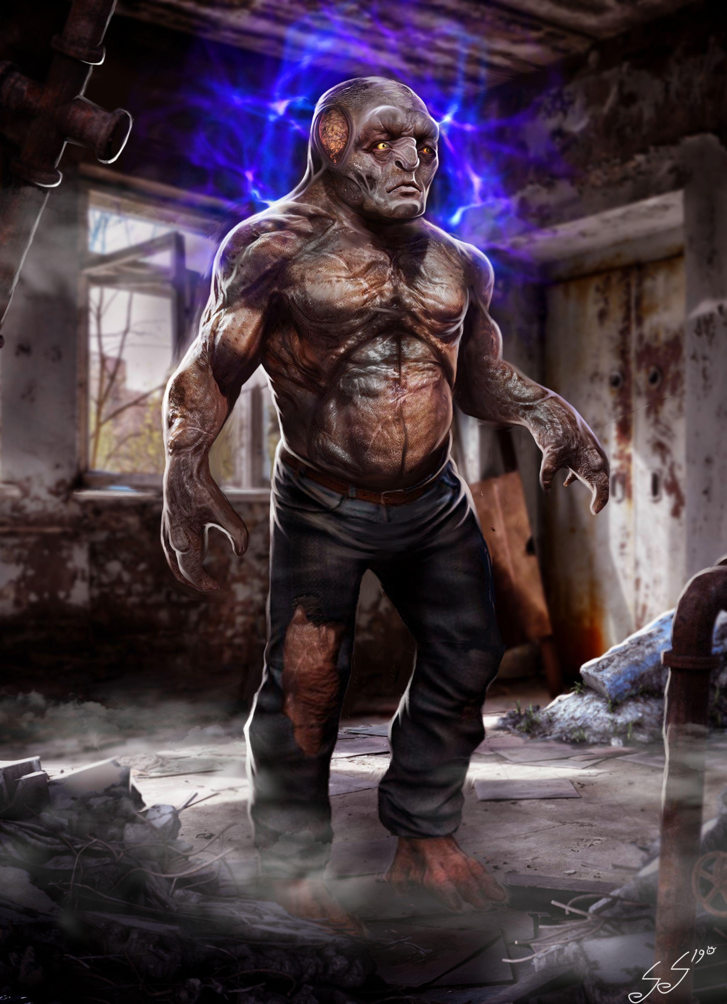 Крутые картинки с мутантами