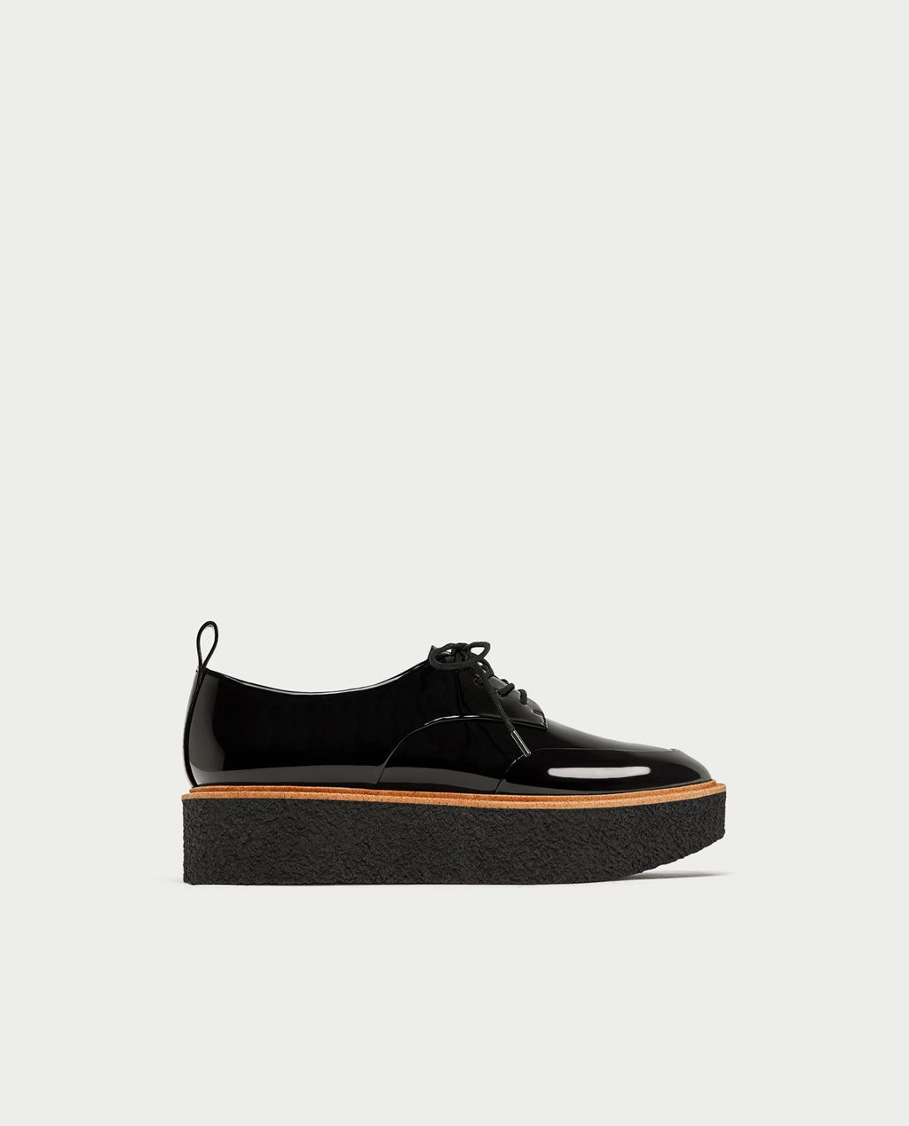 625fbe7b684b Image 2 of PLATFORM DERBY SHOES from Zara