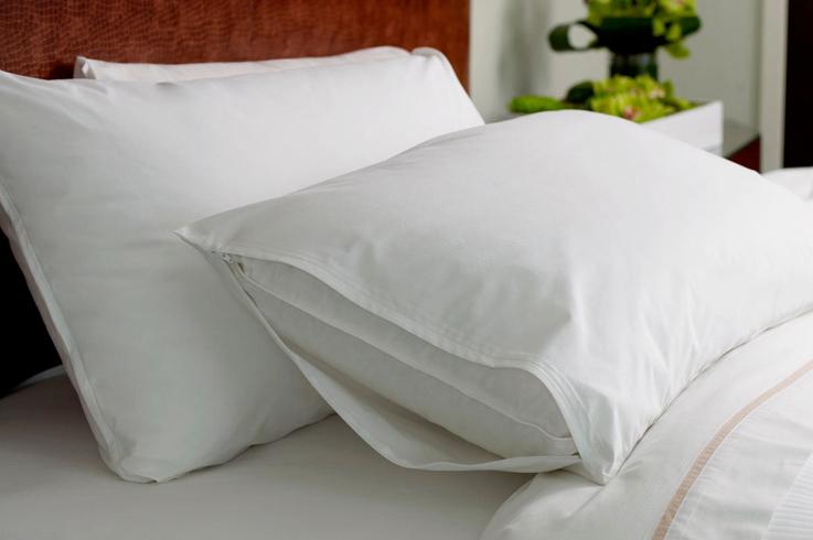 Cotton Polyester Microfiber Bed Pillow Case Protector
