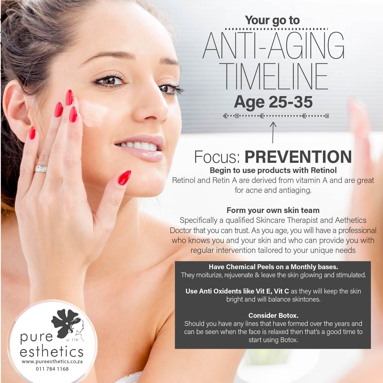 Ages 25 35 Focus Prevention Beauty Skin Skinhealth Healthyaging Pureestheticssandton Skin Treatments Skin Skin Health
