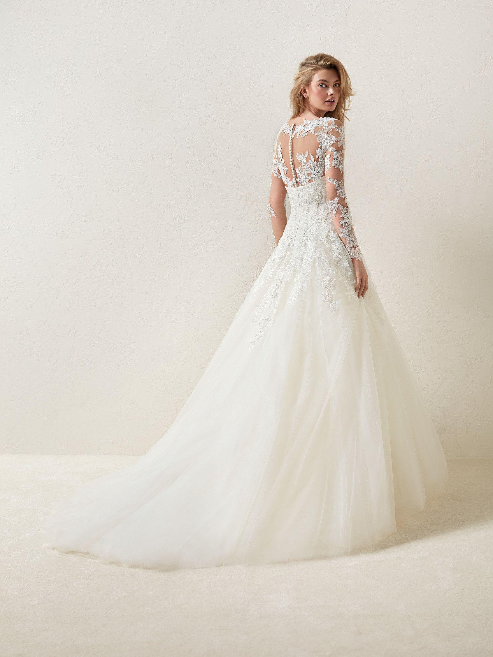 PRONOVIAS DRISELA | Ellada_wedding | Pinterest | Wedding dress ...