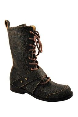 f2820370bde Gee Wawa Marla Lace-Up Tall Boot | all about shoes. | Boots, Leather ...