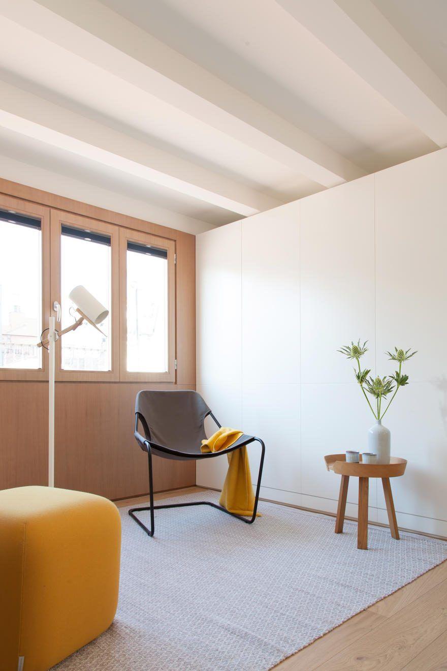 Interior reform of a mini apartment in barcelonas gracia district 7