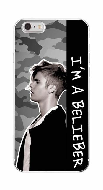 Fashion JUSTIN BIEBER Sorry Love Yourself Soft TPU Phone Case For ...
