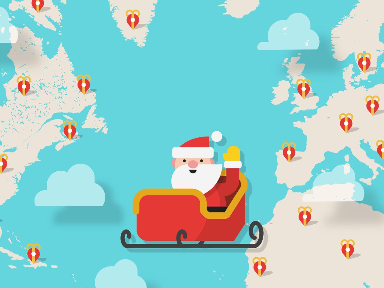 Track Santa Google Santa Tracker Thanks for dropping
