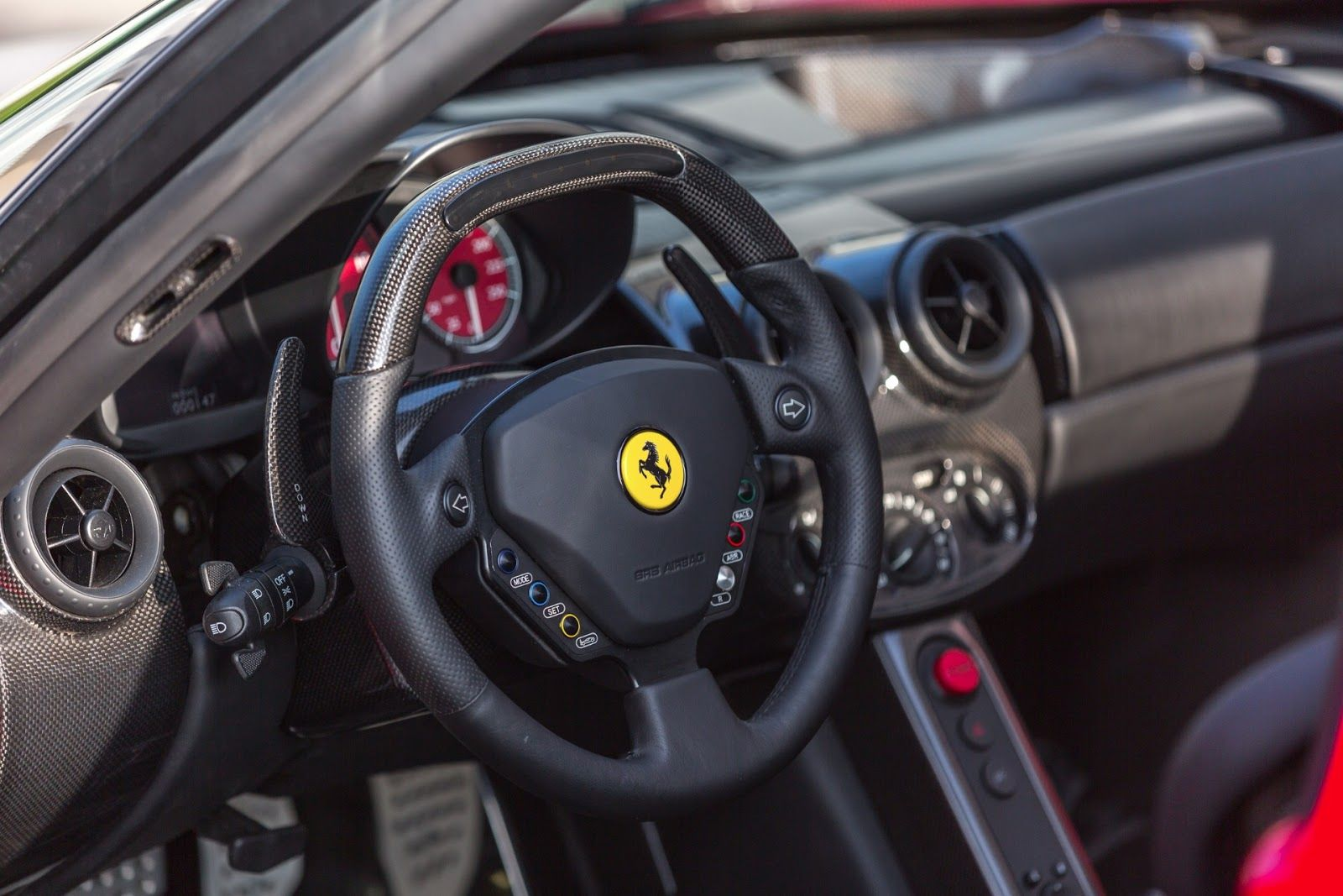 A spectacular Ferrari Enzo with just 141 miles on the clock is for sale!