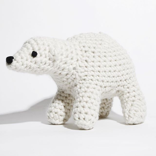 Bruno the bear is available as a pattern for a few days only ...