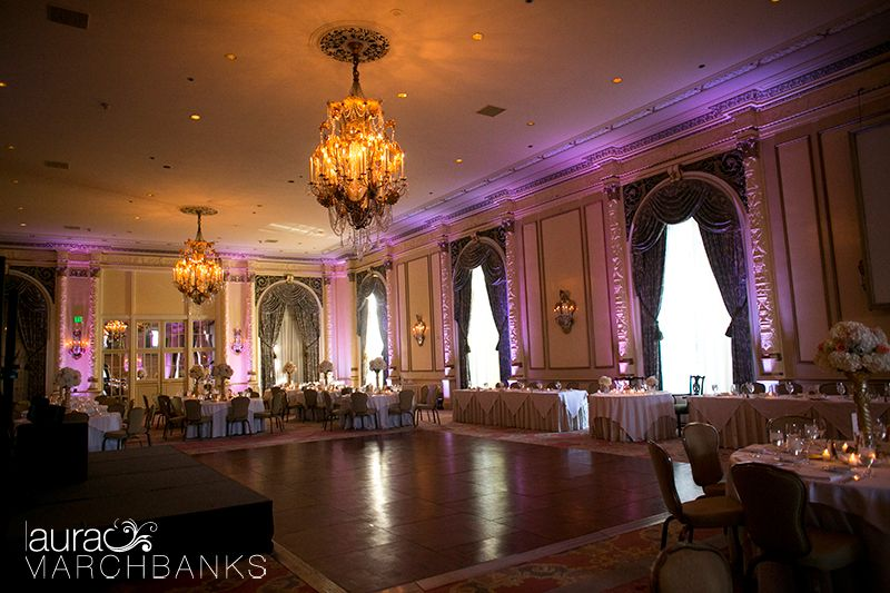 Seattle Wedding Photographer Laura Marchbanks Photographs A At The Fairmont Olympic In Spanish