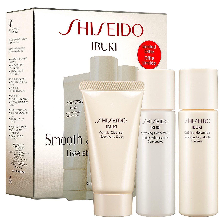 New At Sephora Shiseido Ibuki Ready For Anything Skin Set Skincare Skincareiq Giftsets