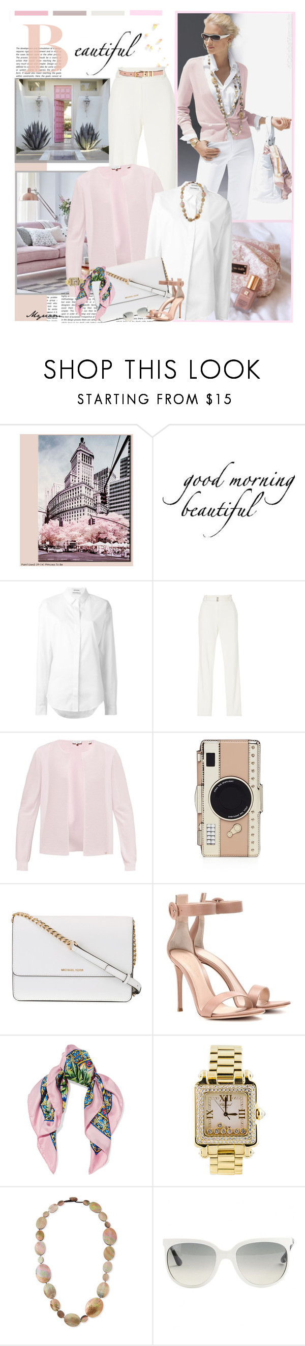 """So beautiful and class"" by lovemeforthelife-myriam ❤ liked on Polyvore featuring WALL, Anthony Vaccarello, Maison Ullens, Ted Baker, Kate Spade, Michael Kors, Gianvito Rossi, Dolce&Gabbana, Chopard and Viktoria Hayman"