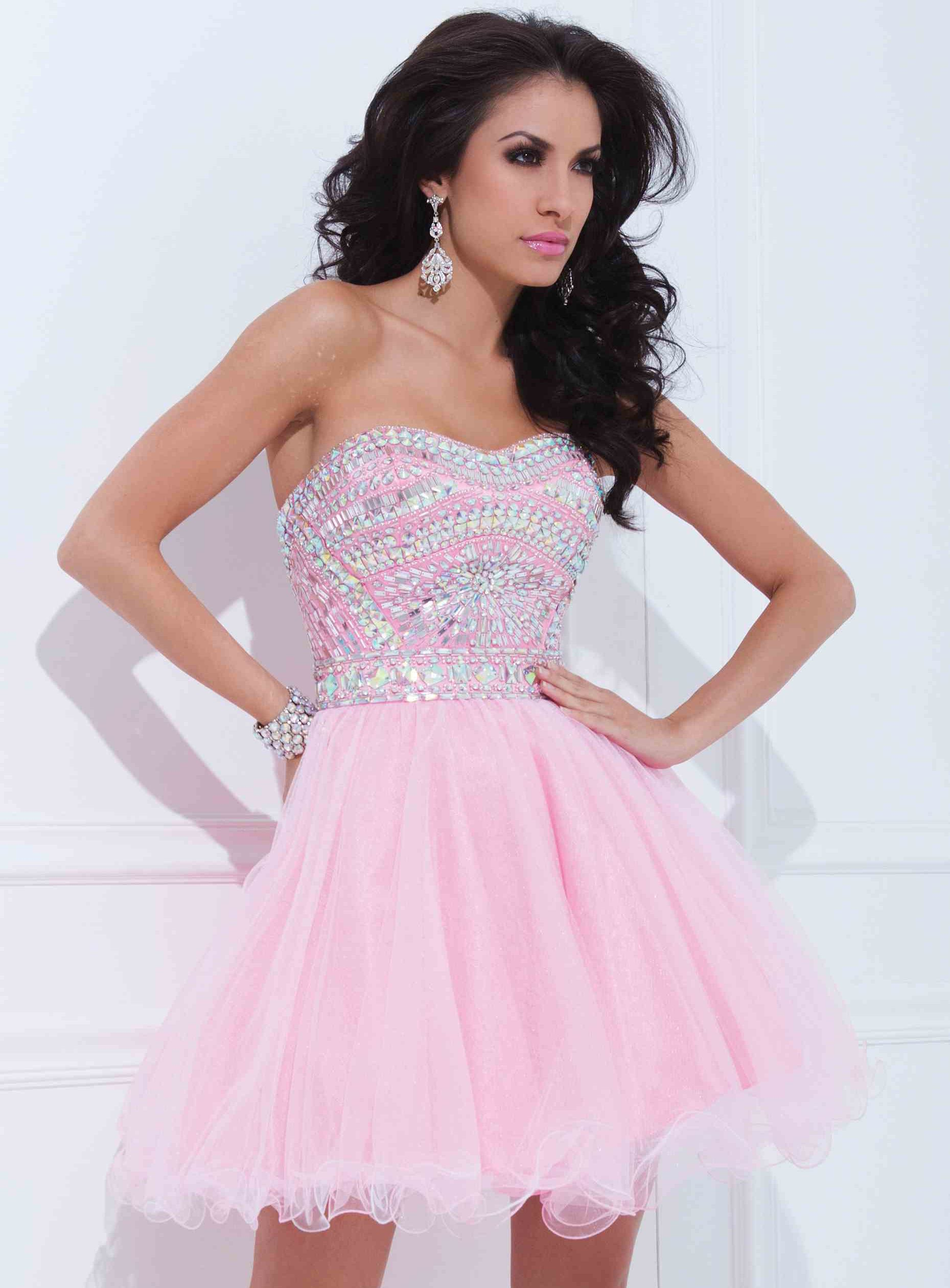 ihomecoming.com SUPPLIES Fantastic A-Line Strapless Beading ...