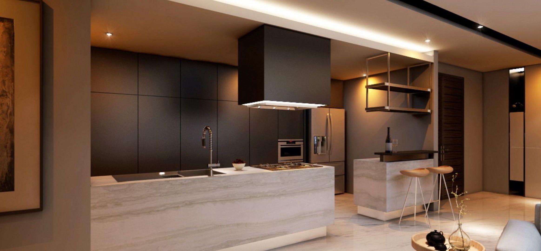 Modern | Kitchen | Spring Hill | Jakarta Pusat | Manna ...