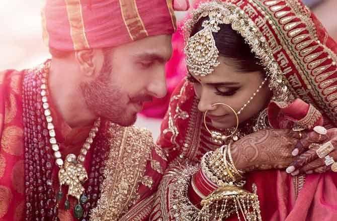 Ranveer Singh and Deepika Padukone share photos as married ...