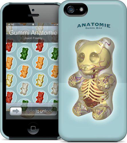 Jason Freeny - Gummi Anatomie - iPhone 5 HardCase Case | GelaSkins ...