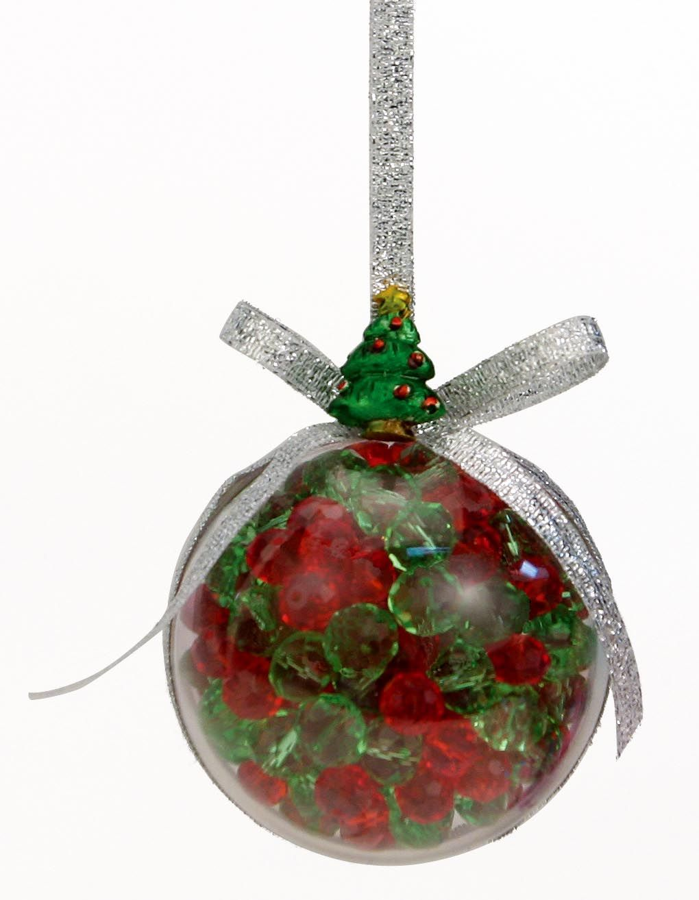Nicole™ Crafts Bead-Filled Bubble Ornament #ornaments #craft #christmas