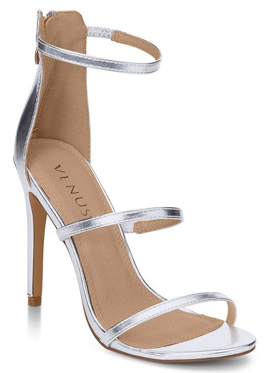 HIGH HEEL STRAPPY SANDALS Slip into this strappy style and