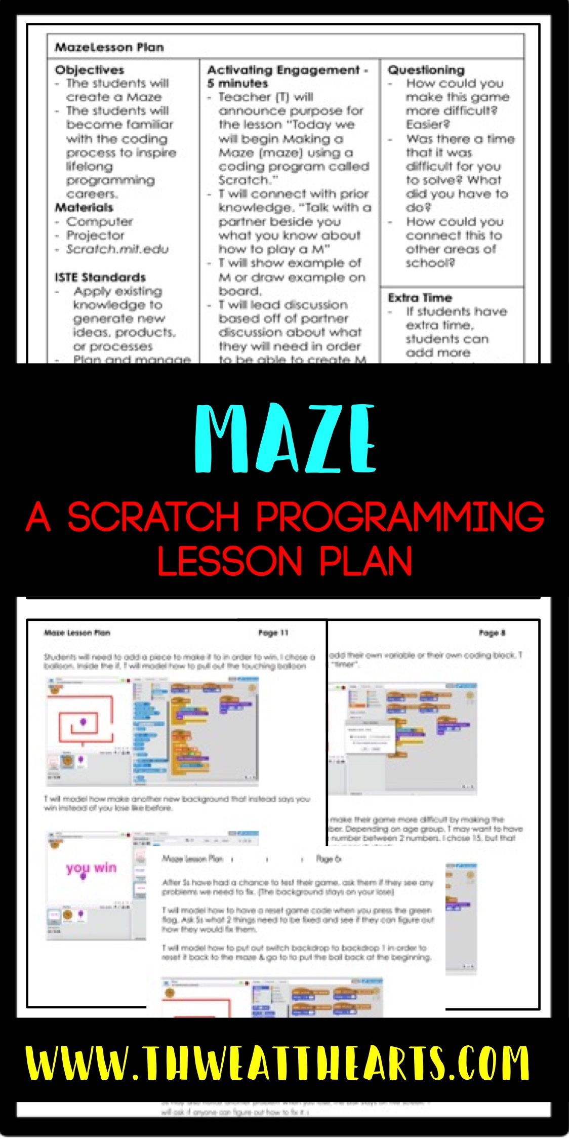 Pin on Scratch Programming Activities